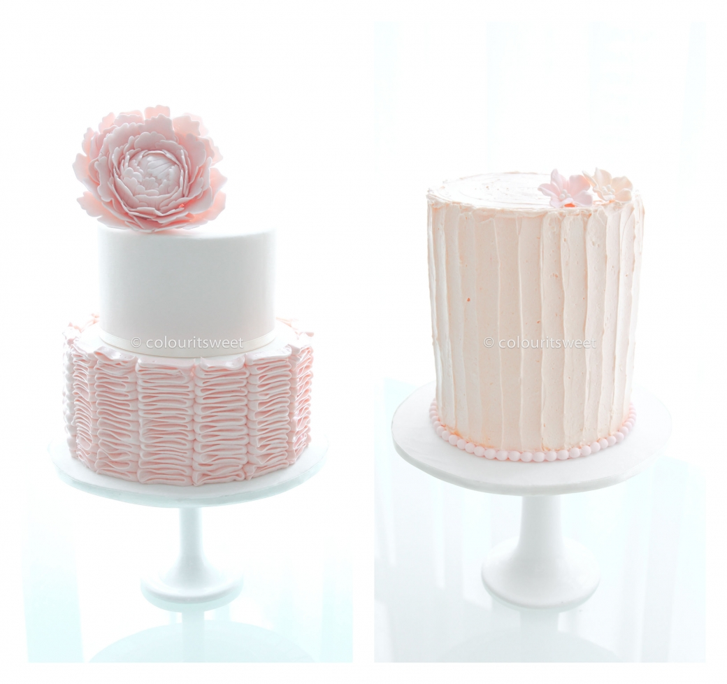 SImple Yet Elegant What Do You Think O Btw These Ruffles And Rustic Vintage Buttercream Makes Great Birthday Cakes Too In One Tiers Or Even Two