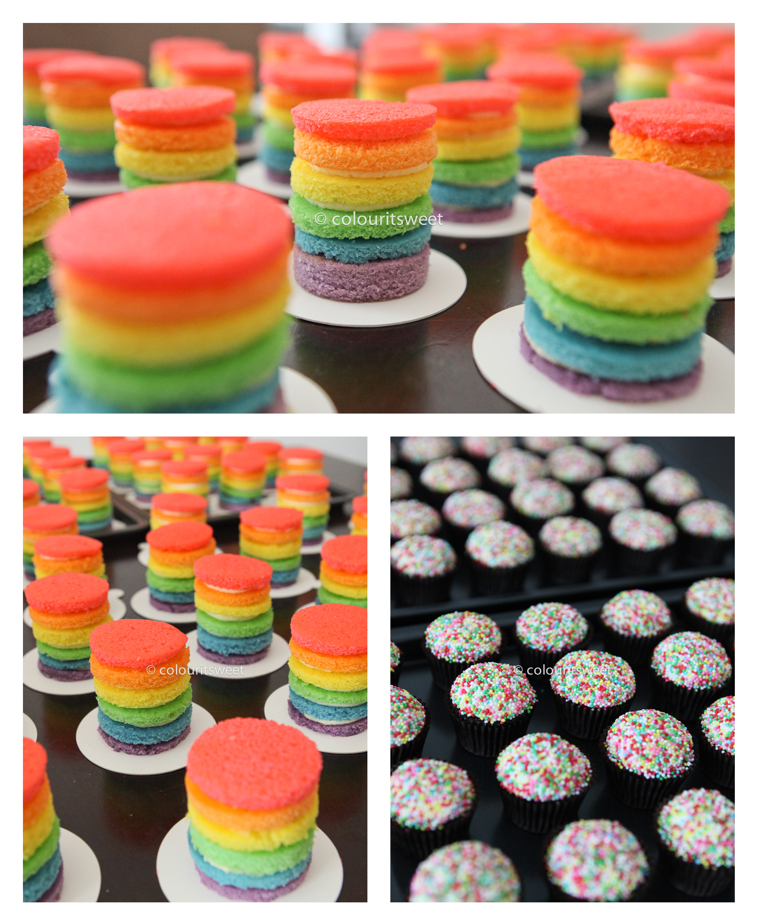 Baby Shower Venues In Singapore: Rainbows All Around… » Colour It Sweet