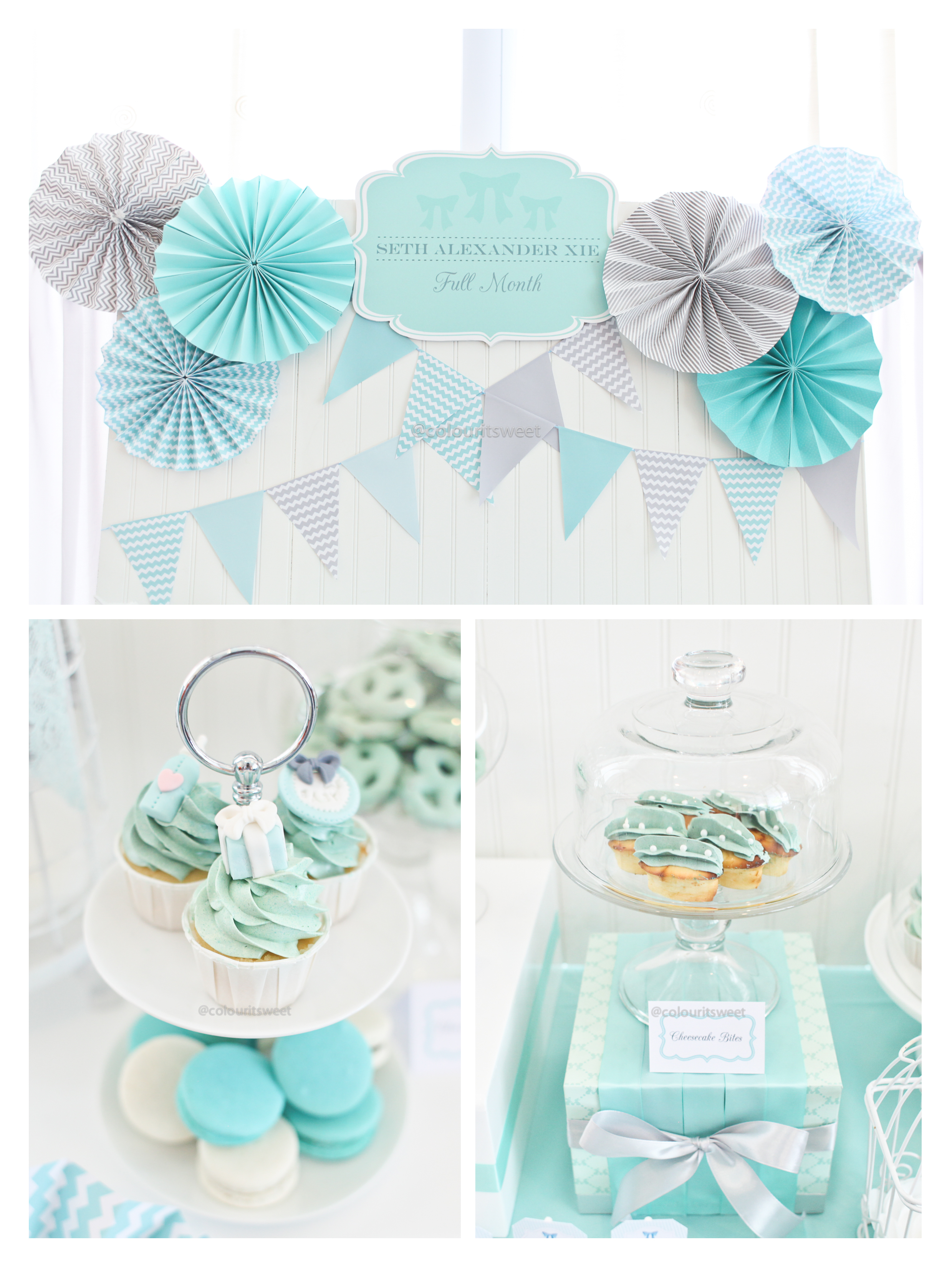 Seth\'s Tiffany Blue Full Month Celebration » Colour It Sweet