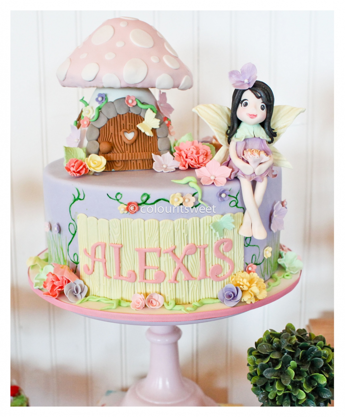 Enchanted Fairy Party 187 Colour It Sweet