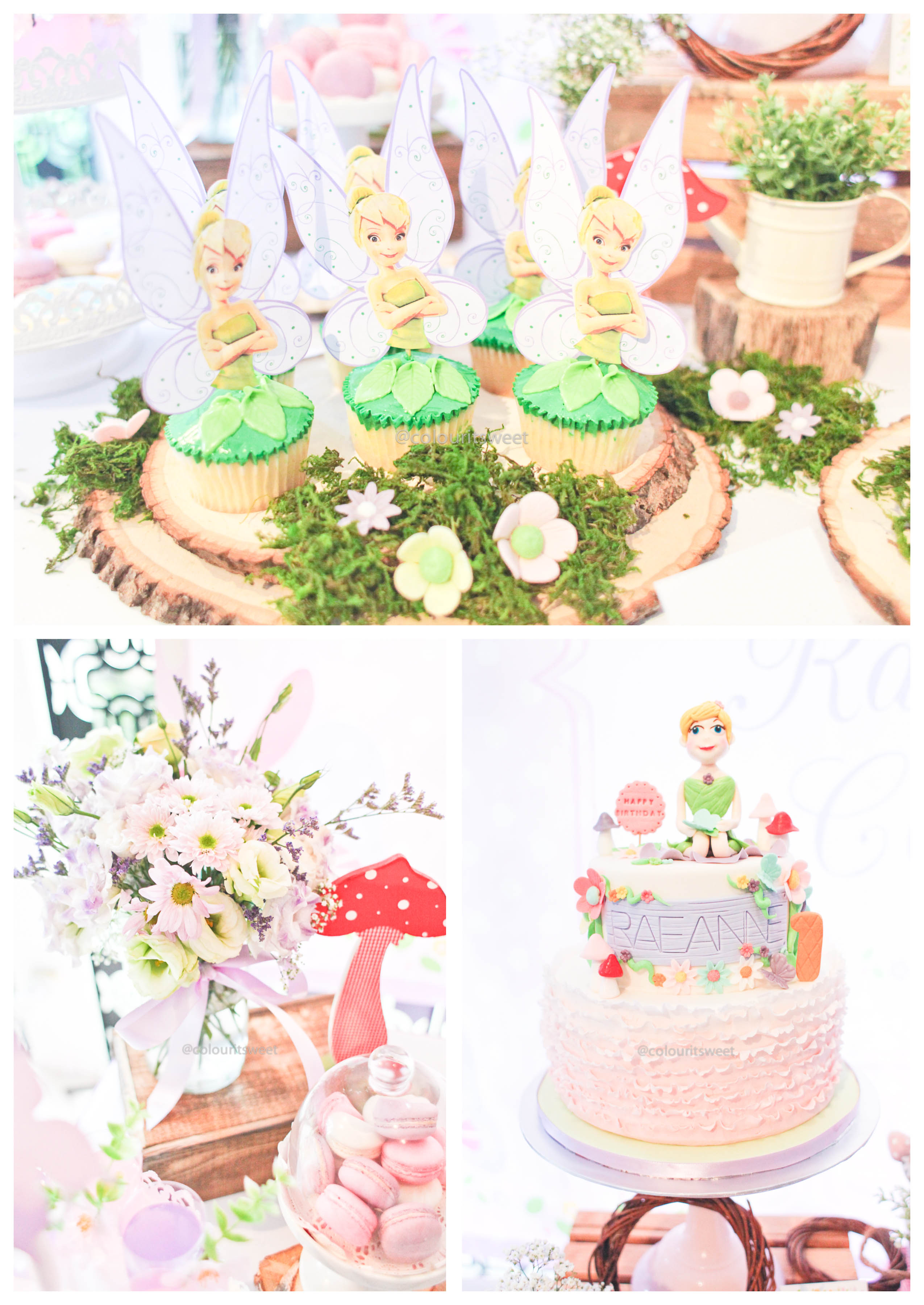 Raeanne\'s Tinkerbell 1st Birthday Party » Colour It Sweet